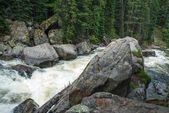 Colorado Mountain River — Stock Photo
