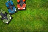 ATV Quad Bikes on Grass — ストック写真