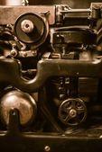 Eski makine portre — Stok fotoğraf