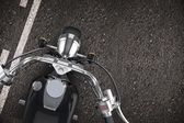 Motorcycle on the Road — Stockfoto