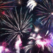 Colorful Fireworks Celebration — Stock Photo #50503067