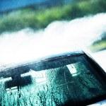 Washing Car in Car Wash — Stock Photo #50503451