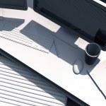 3D Desktop Workstation — Stock Photo