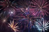 Fireworks Blast Background — Stock Photo