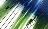 Shiny Metal Panels Backdrop — Stock Photo