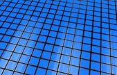 Blue 3D Cubes Background — Foto de Stock