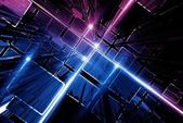Technology Circuit Background — Stok fotoğraf