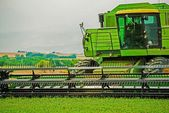 Harvester Closeup — Stock Photo