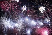 Holiday Fireworks — Stock Photo