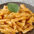 Pasta Dish Closeup — Stock Photo