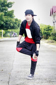 Male Street Dancer — Stock Photo