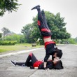 Hissing Hip Hop Dancer — ストック写真
