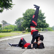 Kissing Hip Hop Dancer — ストック写真