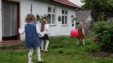 Children playing — Stock Video