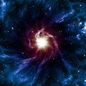 Spiral Galaxy — Stockfoto
