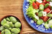 Vegetarischer salat — Stockfoto