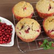 Homemade muffins - Stock Photo