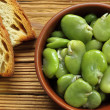 Broad bean — Stockfoto