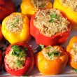 Stuffed peppers — Stock Photo #18263613