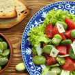 Vegetarian salad - Stock Photo