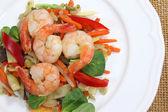 Fried Shrimps — Stock Photo
