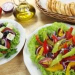 Salads — Stock Photo