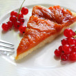 Stock Photo: Apricot tart