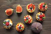 Custard tarts — Stock Photo