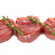 Stock Photo: Sirloin steak