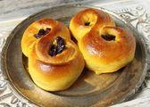 Saffron buns — Stock Photo