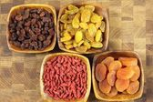 Dried fruits. — Stock Photo