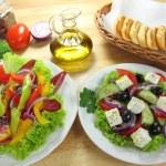 Salads — Stock Photo #49386591