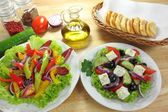 Salads — Stockfoto