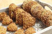 Hafer-kekse — Stockfoto