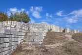 A ancient fortress Madara in Bulgaria — Stock Photo