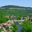 Stock Photo: View from old town Veliko Tarnovo in Bulgaria