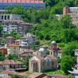 View from old town Veliko Tarnovo in Bulgaria — Stock Photo