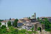 View from old town Veliko Tarnovo in Bulgaria — Stock Photo
