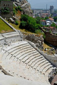 Roman amphitheatre in Plovdiv, Bulgaria — Stock Photo
