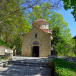 Stock Photo: Medieval Orthodox church shot at Balchik, Bulgaria