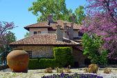 Rezidence rumunské královny od černého moře v balchik, bulharsko — Stock fotografie