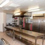 Restaurant kitchen inside — Stock Photo #32956549
