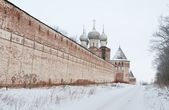 Great monasteries of Russia. Borisoglebsk — Stock Photo