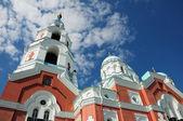 Lieu sacré. île valaam. cathédrale spaso-preobrazhenskiy — Photo