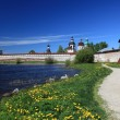 Russia.Kirillo-Belozersky monastery, overview — Stock Photo