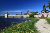 Russia.Kirillo-Belozersky monastery, overview — Stock Photo