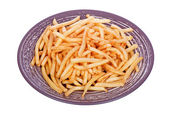Fast food. French fries potatoes ready to be eaten — Stock Photo