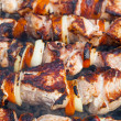 Shish kebab on skewers — Foto Stock