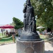 Stock Photo: Saint Nicholas statue, Lycia, Myra, Turkey. Statue of SNicholas near famous church of Saint Nicholas.