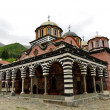 Stock Photo: RilMonastery.largest Orthodox monastery in Bulgaria